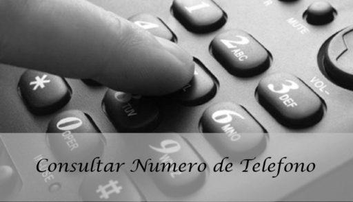 consultar numero de telefono
