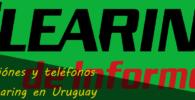 Direcciónes y teléfonos de Clearing en Uruguay