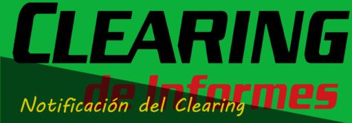 Notificación del Clearing