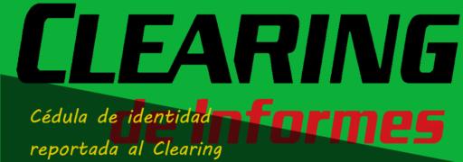 ¿Por qué las denuncias de cédula de identidad son reportadas al Clearing?
