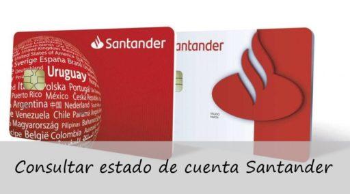 consultar estado de cuenta Santander