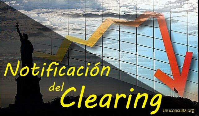 Notificaciones del clearing
