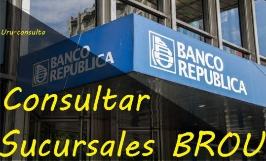 Photo of Consultar Sucursales Brou