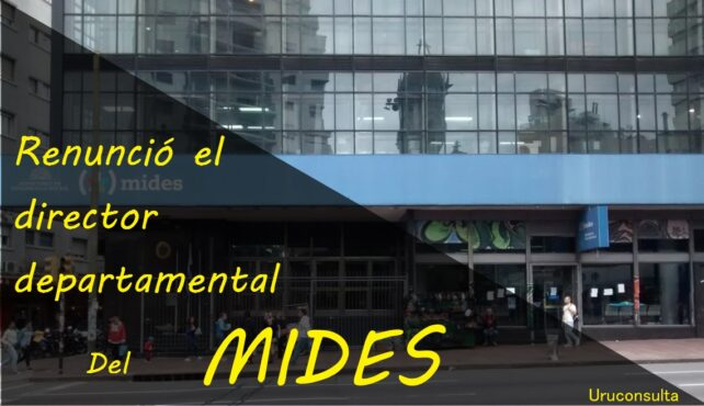 Photo of Renuncia el director departamental del Mides